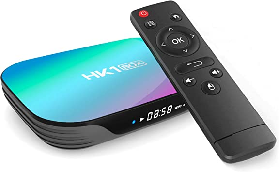 Xilibod Android 9.0 TV Box 4GB RAM/64GB ROM, S905X3 Quad Core 64bit Cortex-A55, GPU G31™ MP2,H.265 Decoding 2.4G/5G dual-band Wifi LAN 1000 RJ-45 Smart TV Box: Amazon.es: Electrónica