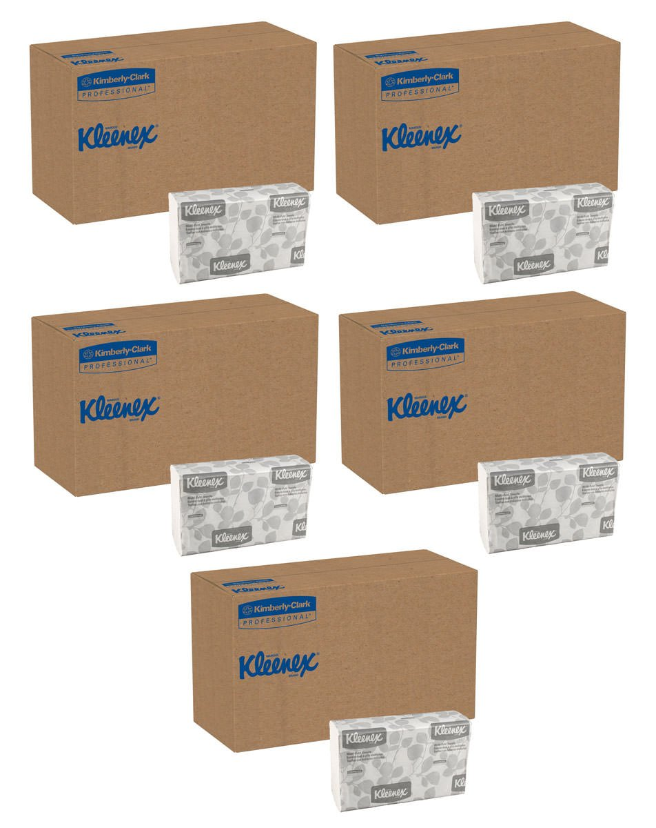 Kleenex Multifold Paper Towels (02046), 5 Case