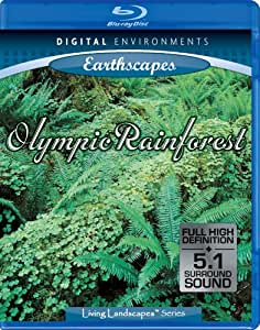 Living Landscapes: Earthscapes - Olympic Rainforest [Blu-ray]