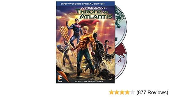 Amazon.com: Justice League: Throne of Atlantis: 2 Disc ...