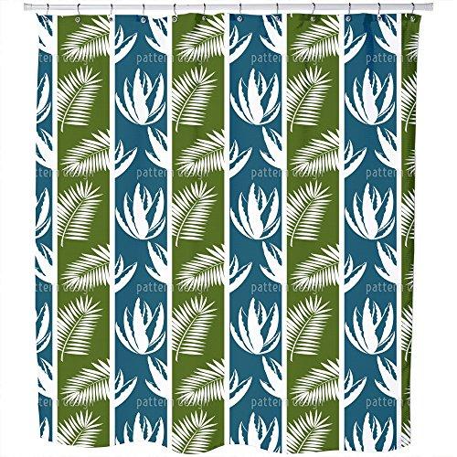 Uneekee Saba Shower Curtain: Large Waterproof Luxurious Bathroom Design Woven Fabric by uneekee