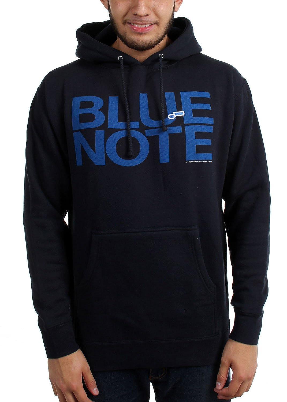 Blau Note - Herren Vollbrust Logo Hoodie