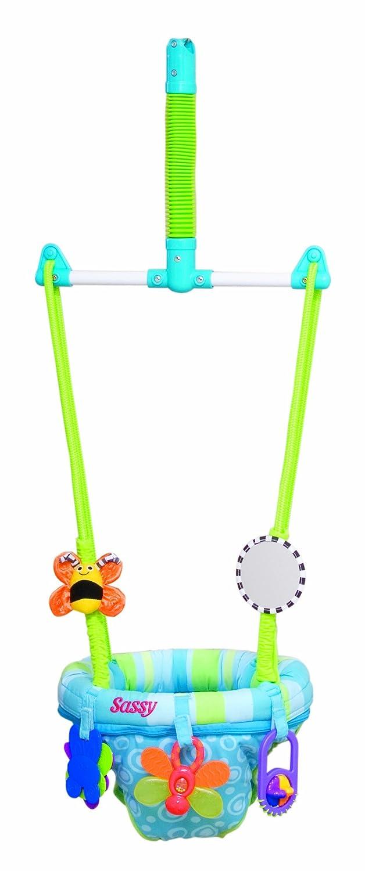 amazoncom  sassy seat doorway jumper  toys  baby doorway  - amazoncom  sassy seat doorway jumper  toys  baby doorway jumpers  baby