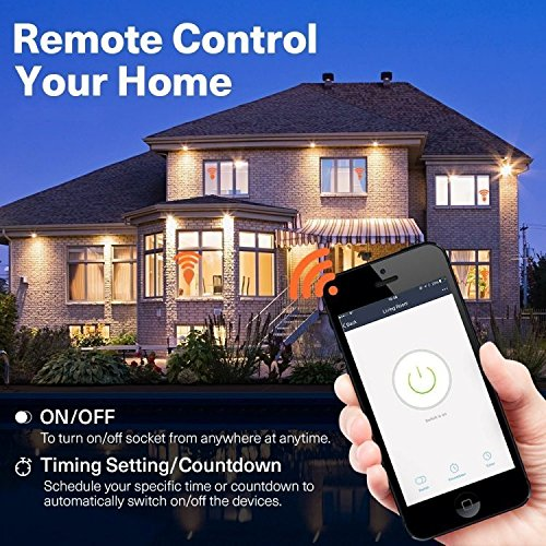 TWB Smart Wi-Fi Smart Plug, Compatible with Alexa and Works with Google Home. Smart Home Electrical Outlet Timer Compatible with Amazon Echo Dot Accessories. For Home Automation (2-Pack) by TWB Smart (Image #6)