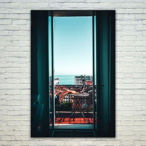 Westlake Art Poster Print Wall Art - Window Reflection - Mod