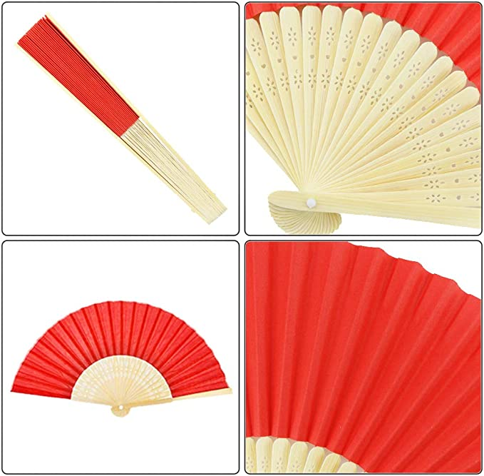 Summer Handheld Fan Chinese Folding Hand Fan Printed Paper Decorative gift/_CH