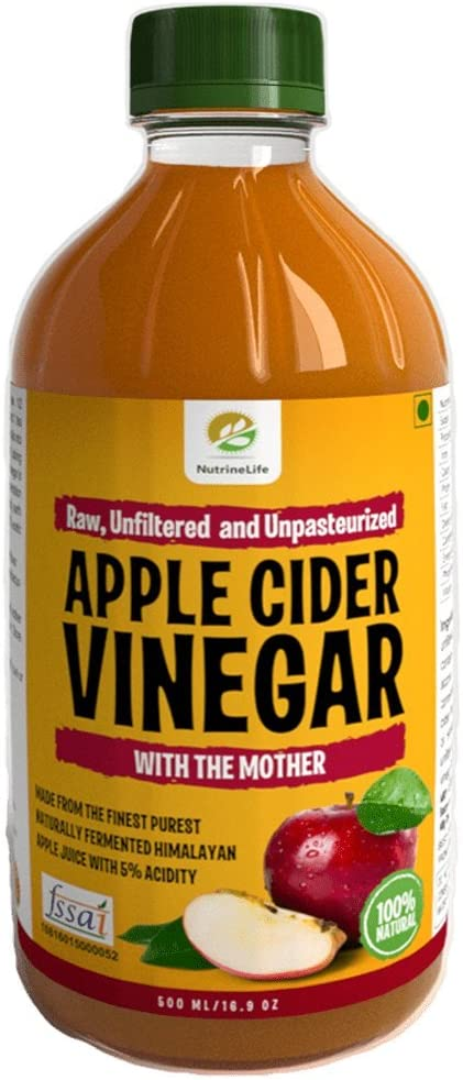 NutrineLife Pure and Natural Apple Cider Vinegar