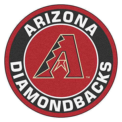 FANMATS 18126 MLB Arizona Diamondbacks Roundel Mat ()