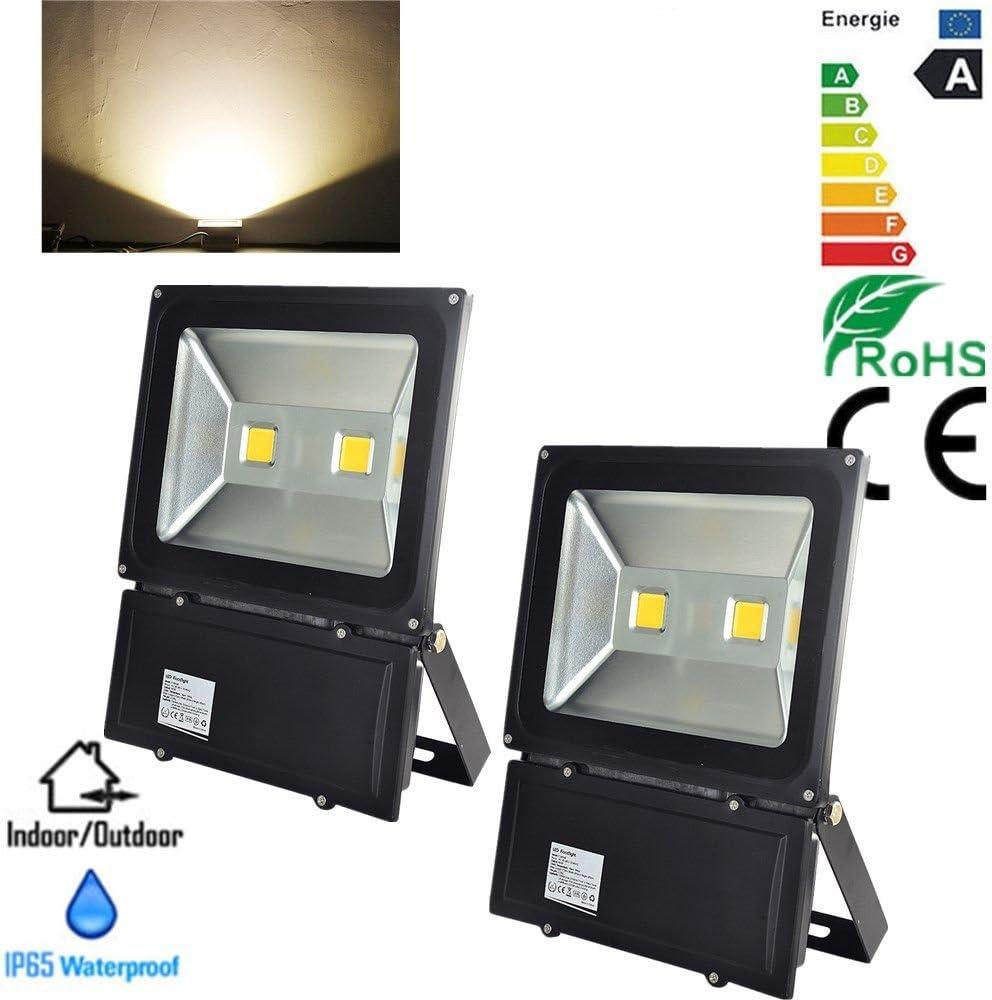 2x 50W Waterproof LED Work Flood Light Floodlight Indoor Outdoor White Lamp New