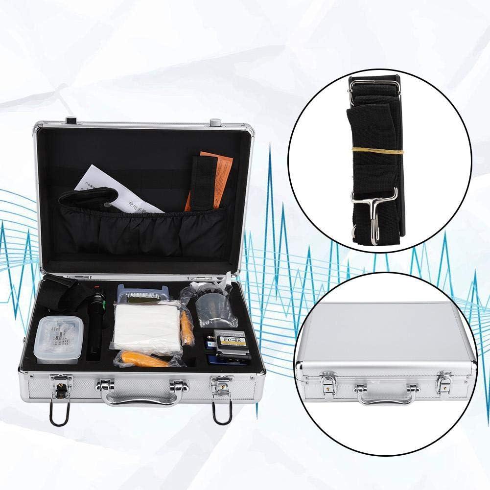 Miller 125/μm 1.98mm misuratore di Potenza Ottica AUA-9 Kit Fibra Ottica FTTH apriscatole Manuale KB-1 Connettore mannaia Fibra Ottica FC-6S Visual Fault Locator 10 km Fibra Ottica Tester