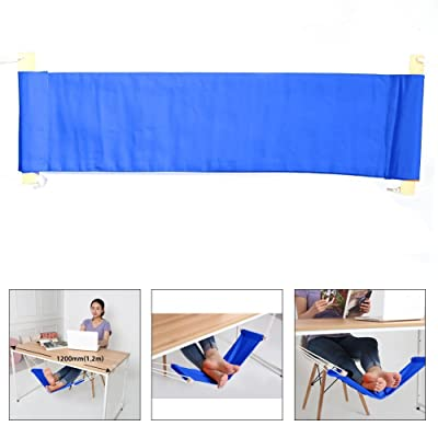 FUUT - Put your foot up on the hammock under the desk comfortable for Your foot(Blue) : Garden & Outdoor