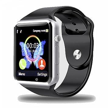 Montre connectée padgene 2017 nouveau modèle horloge poignet Fitness Bluetooth avec écran tactile.