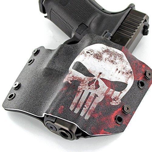 Punisher USA Gray FN Colt CZ Kydex OWB Gun Holsters Diamondback