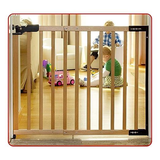 QIANDA Barrera de Seguridad Bebé Puerta de la Escalera Puerta ...