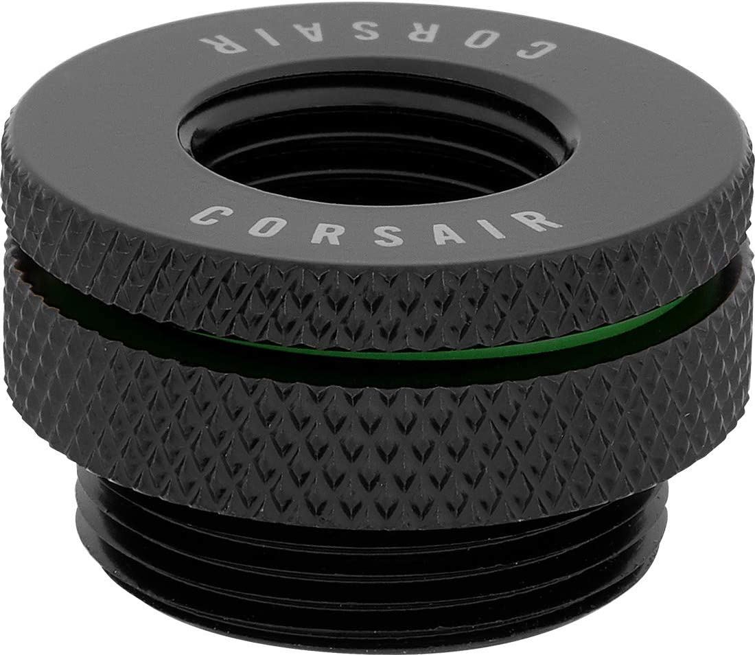 """45/° Rotary Adapter Twin Pack Corsair Hydro X Series Chrome Standard G1//4/"""" BSPP Threads, Solid Brass, Securely Sealed Rotation Mechanism, High-Quality Polished Finish, Optimised for High Flow Rates"""