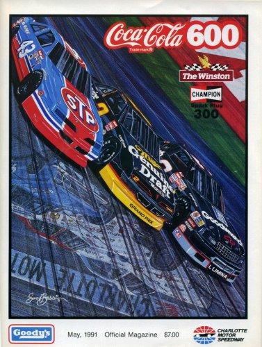 Charlotte Motor Speedway May 1991 Official (Sam Bass Nascar)