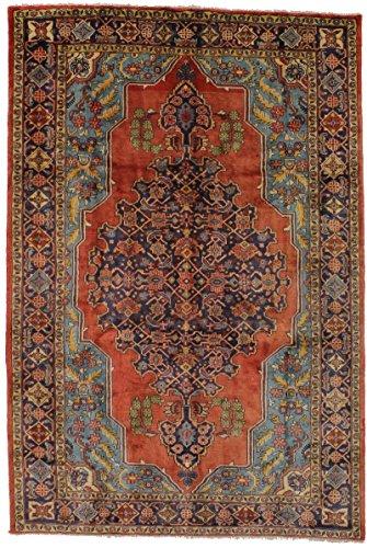 Viss Persian Rugs (Great Shape Handmade Vintage Viss Arak Persian Style Rug Oriental Area Carpet 7X11)