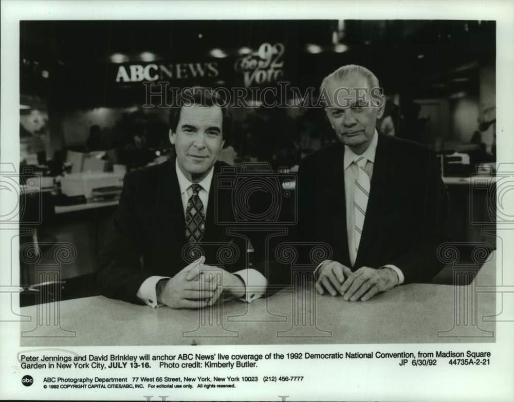 Amazon com: Vintage Photos 1992 Press Photo ABC News Anchors