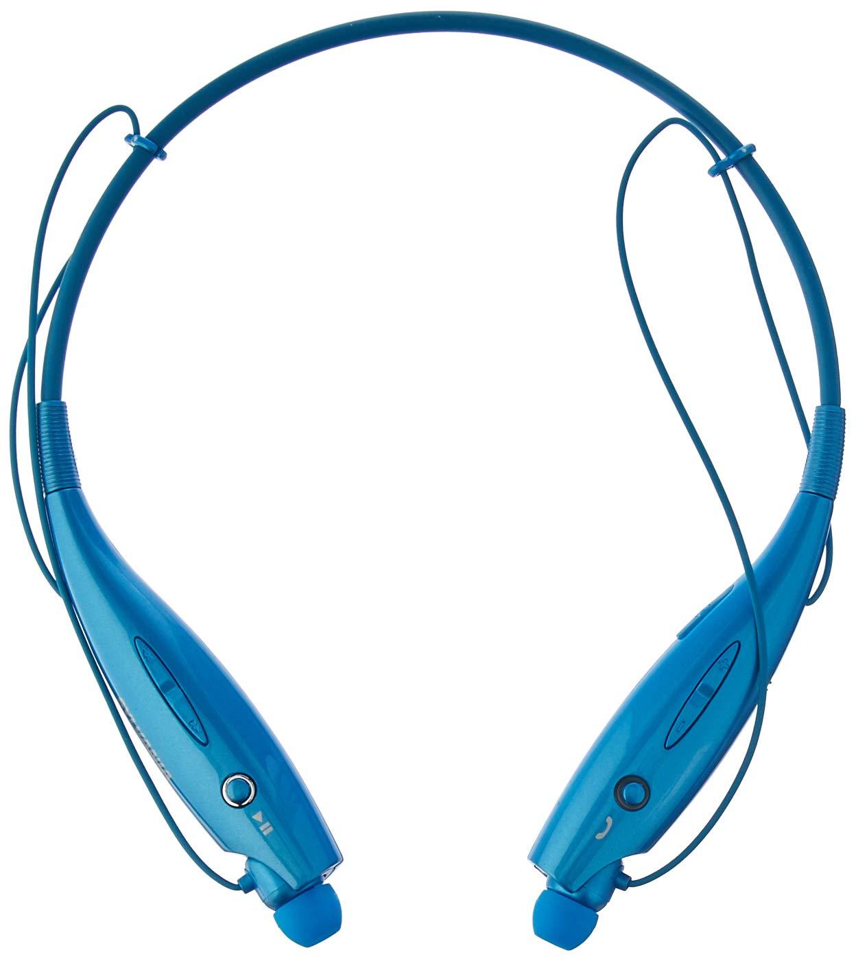 5d4dc9d0e66 Amazon.com: Sylvania SBT129-BLUE Sports Style Bluetooth Headphones (Blue):  Electronics