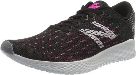 New Balance Zante Pursuit Neutralschuh Damen-Schwarz, Pink, Zapatillas de Running Calzado Neutro para Mujer