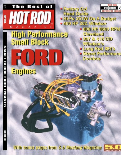 The Best of Hot Rod Magazine - Volume 6: High Performance Small Block Ford Engines (Engines Block Small Ford)