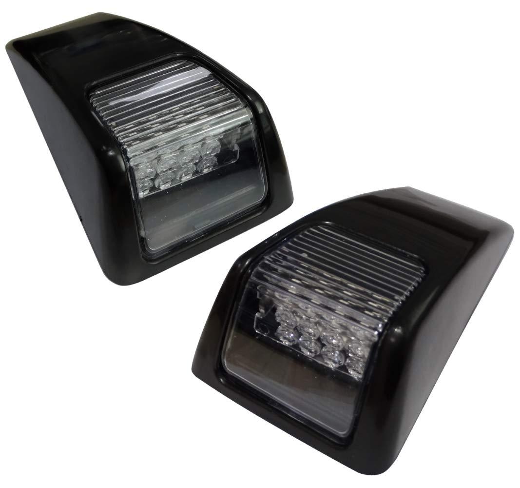 24 V Lampeggiante a LED Aerzetix C41133 per Camion Peso-Pesante Sinistra e Destra