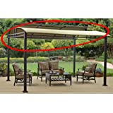 Replacement Canopy for Better Homes & Garden Sawyer Cove 12' x 10' Barrel Roof Gazebo
