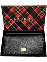 Lauren By Ralph Lauren Cobden Leather Slim Wallet Black One Size