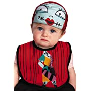 Disney Disguise The Nightmare Before Christmas Sally Infant Bib and Hat, 0-12 Months