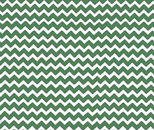 SheetWorld Crib / Toddler Sheet - Forest Green Chevron Zi...