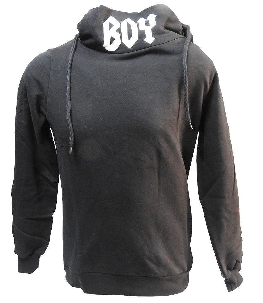 Boy London - Sudadera con Capucha - para Hombre Negro Negro: Amazon.es: Ropa y accesorios