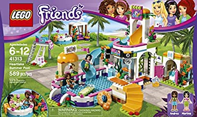 LEGO Friends Heartlake Summer Pool 41313 Building Kit from LEGO