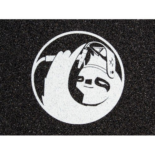 Hella Sloth Affinity Collaboration Grip Tape Black/White