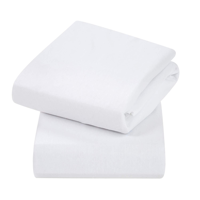 Lemon FYLO Moses Basket Jersey Fitted Sheet 100/% Cotton 76x28cm