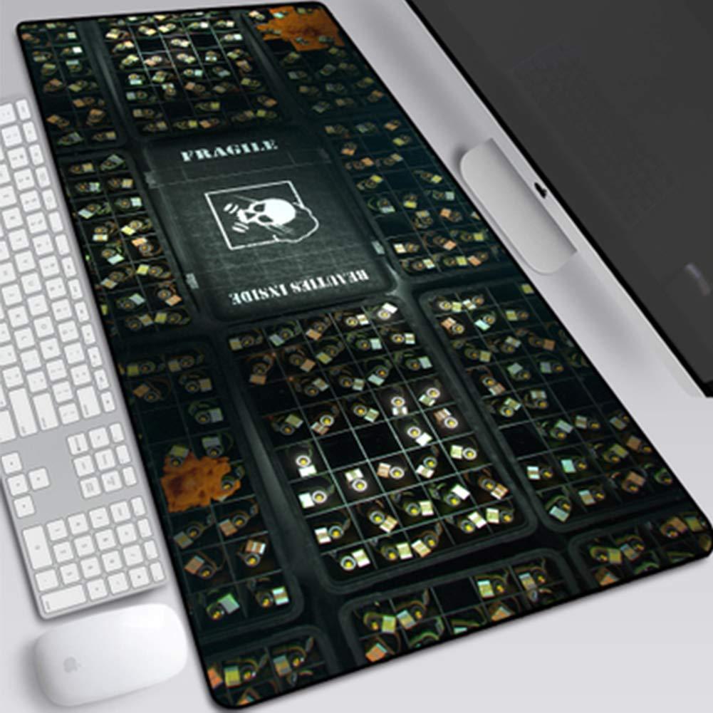 GUOFENG Mouse Pad Game Rainbow Six Rainbow Six Siege 80/* 30/cm Grande Notebook Pad Lock Home Animation Tastiera Pad 80 10 30cm