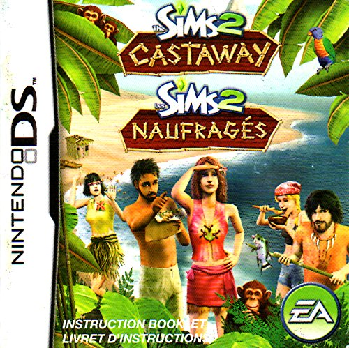 The Sims 2 - Castaways DS Instruction Booklet (Nintendo DS Manual ONLY - NO GAME) Pamphlet - NO GAME INCLUDED (Sims 2 Castaway Ds)
