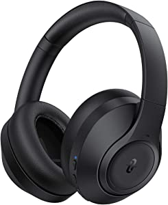 TaoTronics Hybrid Active Noise Cancelling Headphones with 3 ANC Modes Bluetooth Headphones SoundSurge 55 Over Ear Headphones Wireless Headphones with HD Stereo Sound 30H Playtime CVC 8.0 Mic