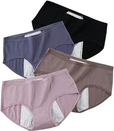 ZUOLUO Bragas Mujer Bragas Mujer Algodon Pack Pantalones de la Ropa Interior de Las Mujeres Pantalones de Las señoras de la Ropa Interior Mix,4XL: Amazon.es: Hogar