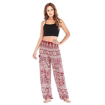 KKIMISPORT Pantalones de Yoga para Mujer Pantalones Sueltos ...