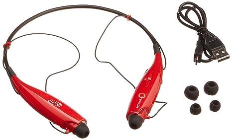 54a39d4bbf9 Amazon.com: iLive IAEB25R Bluetooth Neckband and Earbuds (Red): Home ...