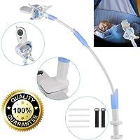 Supporto Universale Baby Monitor, Lega di Alluminio Flessibile 360° 85cm Supporto Baby Monitor per il Supporto Universale Della Scuola Materna Compatibile con Tutti i Telefoni e i Baby Monitor