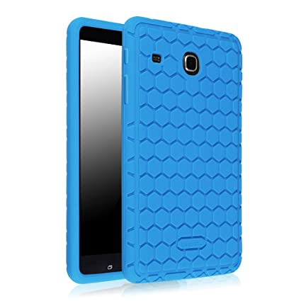 competitive price 28fdd db93e Fintie Samsung Galaxy Tab E 8.0 Silicone Case, Light Weight [Anti Slip]  Shock Proof Cover [Kids Friendly] for Samsung Galaxy Tab E 32GB SM-T378/Tab  E ...