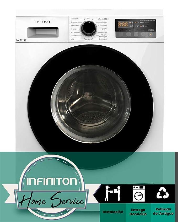 LAVADORA INFINITON WM-IN81420 8KG DE CARGA FRONTAL INVERTER (A+++ ...