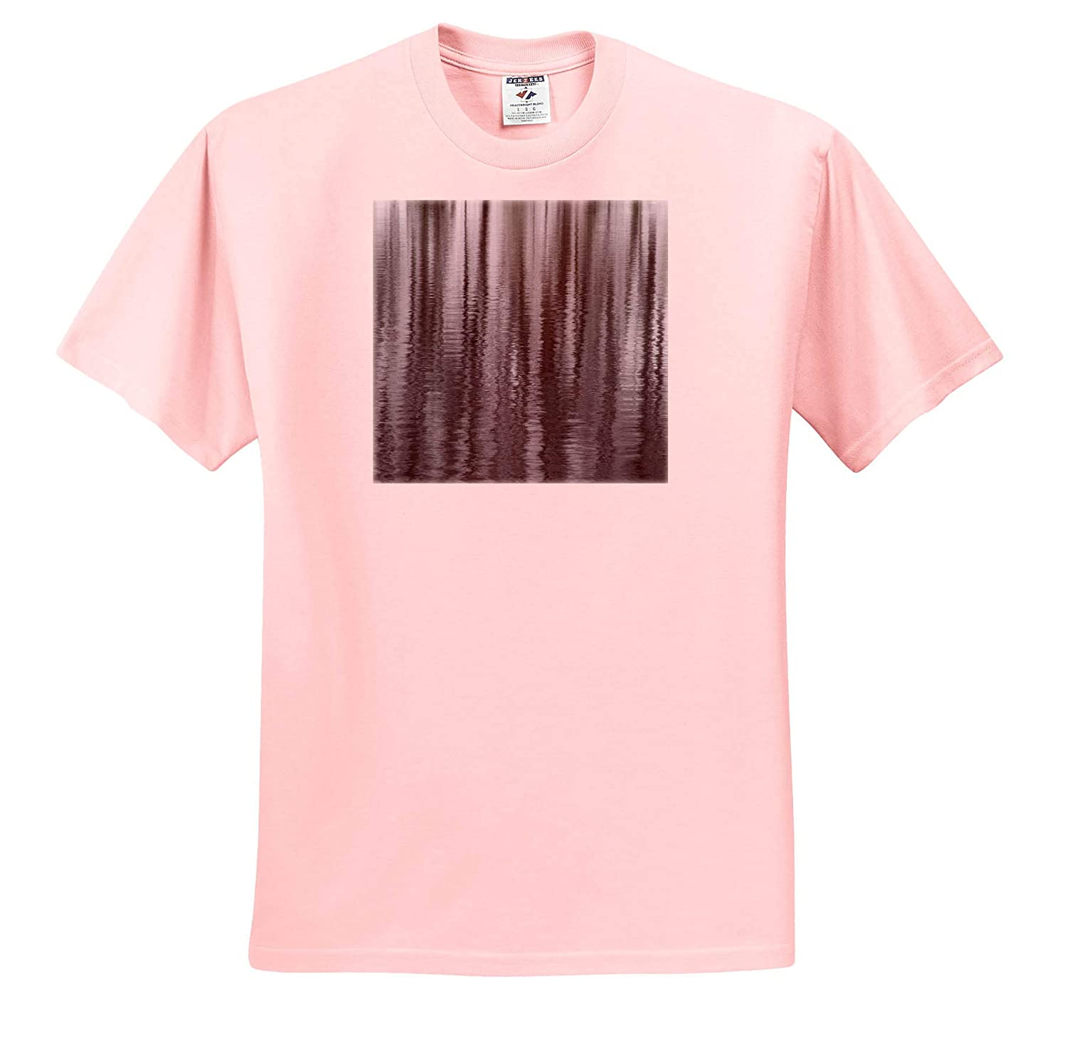 - Adult T-Shirt XL New York State 3dRose Danita Delimont ts/_314951 Abstract Reflection of Winter Trees Abstracts USA