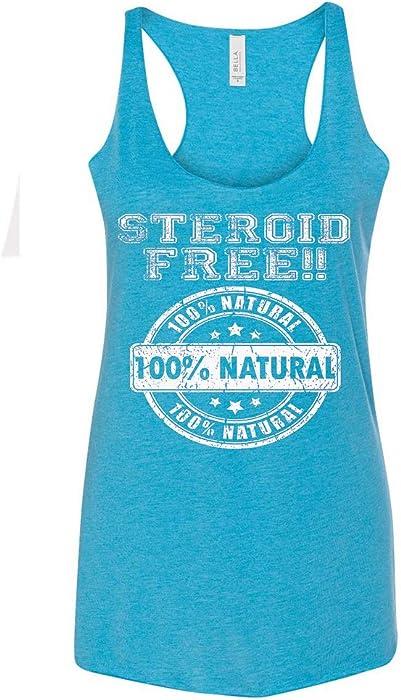 Amazon com: Women's Steroid Free 100% Natural C6 Aqua