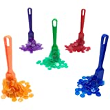 Yuanhe Bingo Magnetic Wand with 100 Chips - 5 Sets in Color Red, Green, Yellow, Purple and Blue Per Order
