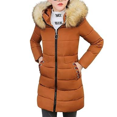 8870f937d5f8e6 OHQ Damen Winterjacke Ladies Hooded Puffer Jacket,Gefütterte Jacke für  Herbst und Winter mit Abnehmbarer