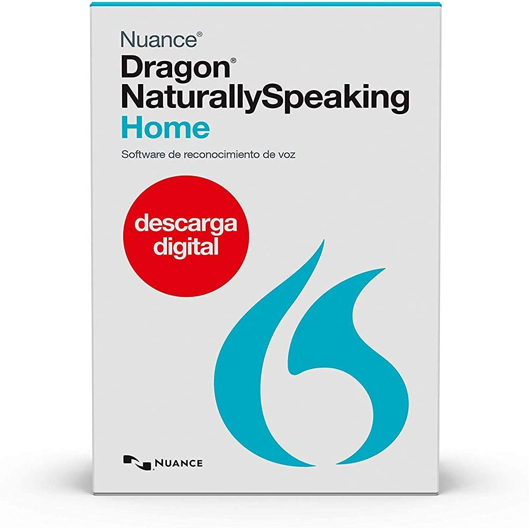 Dragon Home 13, Spanish, Dictate Documents and Control your PC – all by Voice, [PC Download]