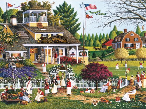 Buffalo Games - Charles Wysocki - Love - 1000 Piece Jigsaw P