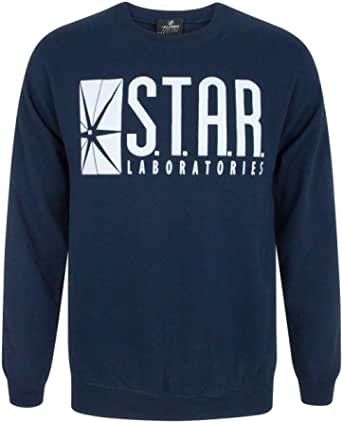 Uniseks Volwassene - Official - The Flash TV Series - Pullover (S)